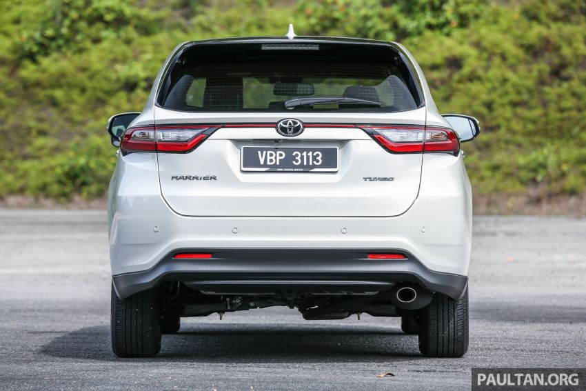 GALLERY: Four generations of the Toyota Harrier SUV Image #1106689