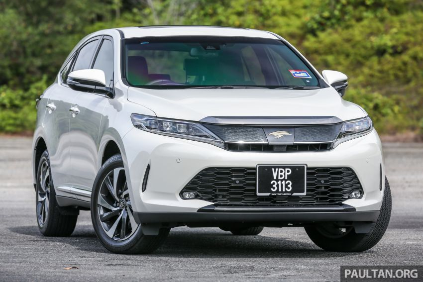 GALLERY: Four generations of the Toyota Harrier SUV Image #1106684