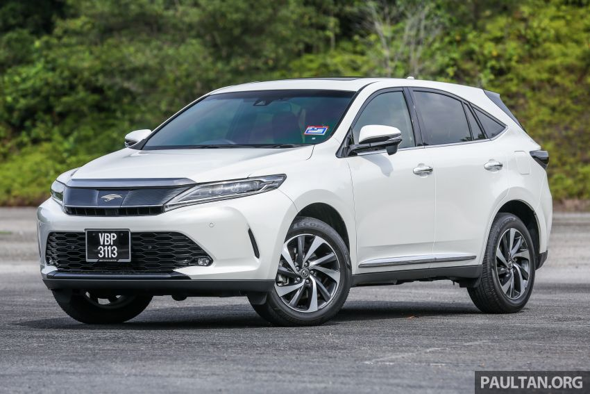 GALLERY: Four generations of the Toyota Harrier SUV Image #1106685