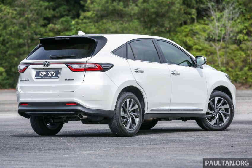 GALLERY: Four generations of the Toyota Harrier SUV Image #1106686