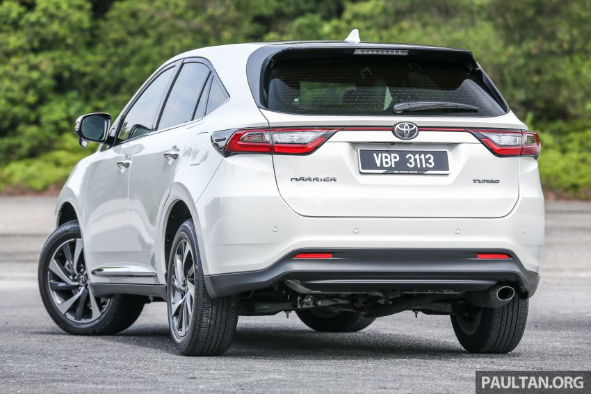 GALLERY: Four generations of the Toyota Harrier SUV Image #1106687