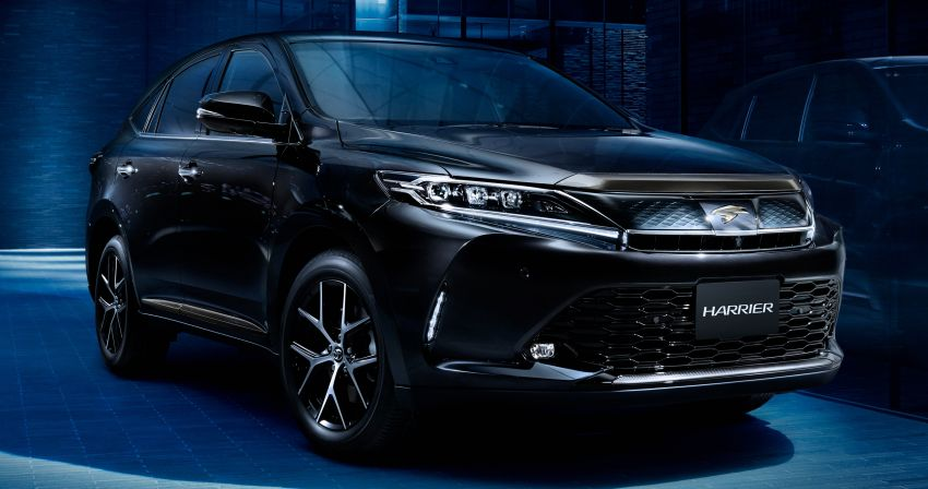 GALLERY: Four generations of the Toyota Harrier SUV Image #1106482