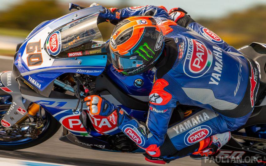 Pata Yamaha WSBK team puts riders' fitness to test Image #1111904