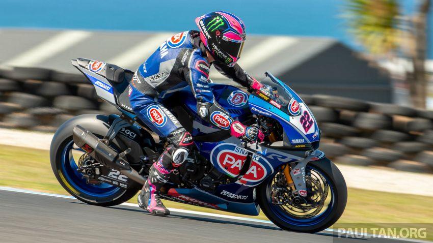 Pata Yamaha WSBK team puts riders' fitness to test Image #1111906