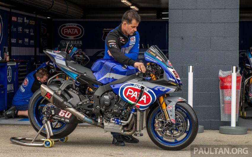 Pata Yamaha WSBK team puts riders' fitness to test Image #1111881