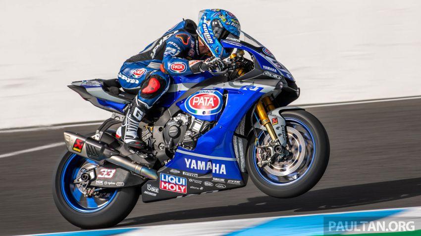 Pata Yamaha WSBK team puts riders' fitness to test Image #1111885