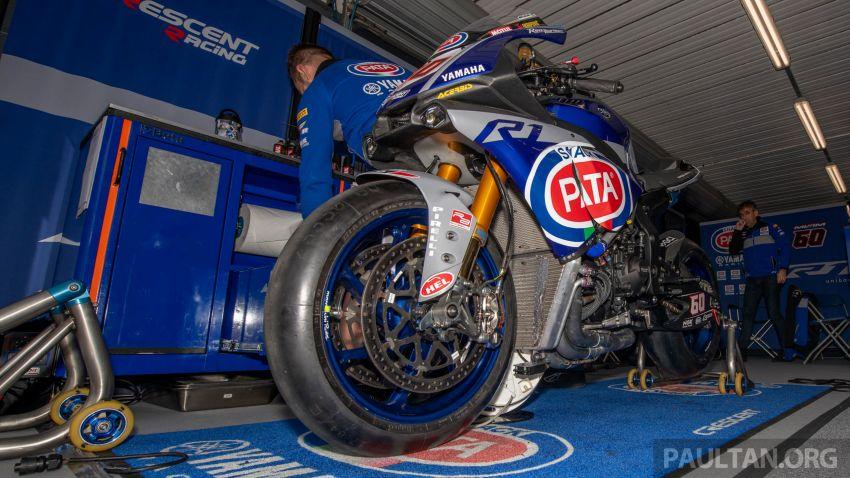 Pata Yamaha WSBK team puts riders' fitness to test Image #1111892