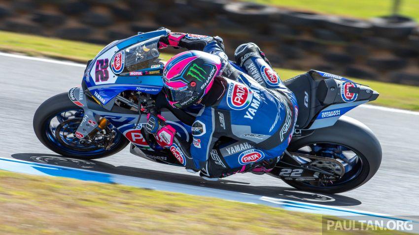 Pata Yamaha WSBK team puts riders' fitness to test Image #1111898