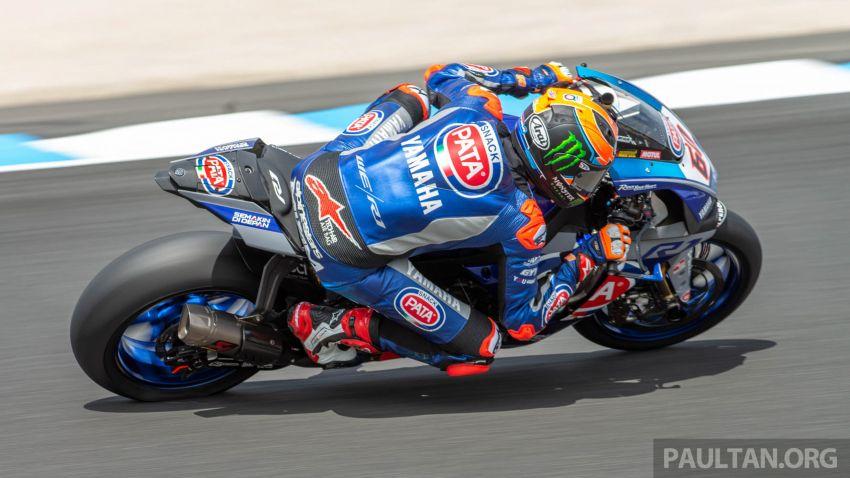 Pata Yamaha WSBK team puts riders' fitness to test Image #1111899