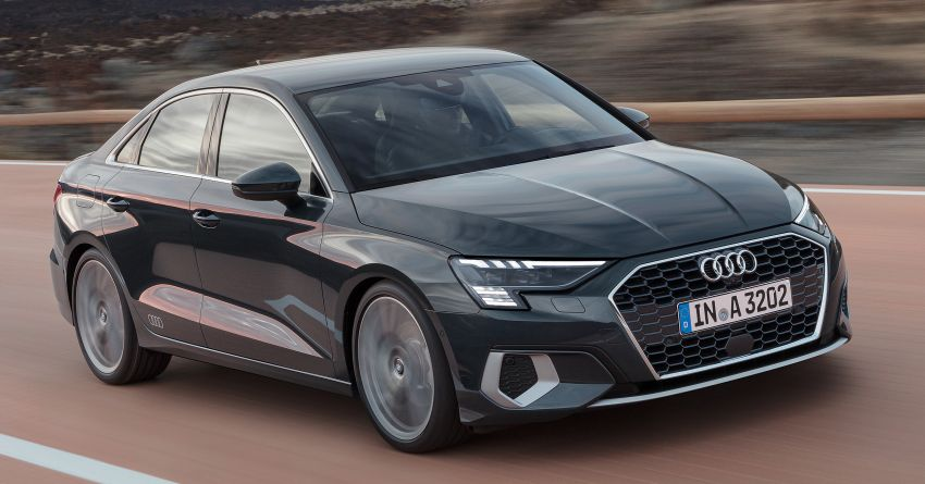 2021 Audi A3 Sedan debuts – improved looks & safety! Image #1109706