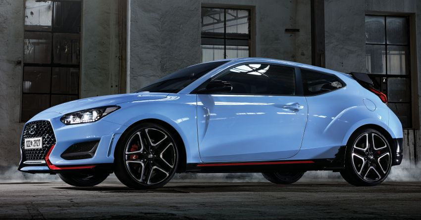 2020 Hyundai Veloster N receives new 8-speed DCT Image #1109420