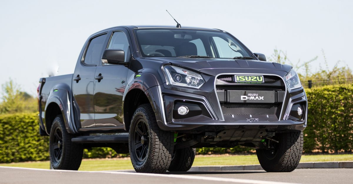 2020 Isuzu D-Max XTR Colour Edition debuts in the UK 2020 ...