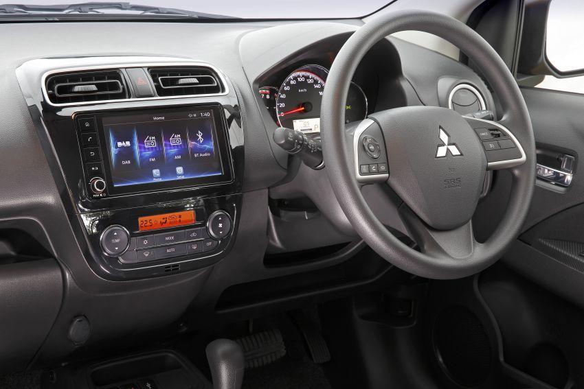 Mitsubishi Mirage facelift 2020 kini di Australia – harga bermula RM44k, standard dengan AEB & 6-beg udara Image #1102054