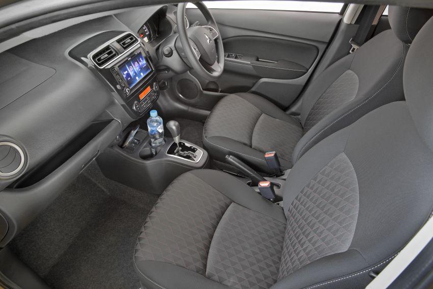 Mitsubishi Mirage facelift 2020 kini di Australia – harga bermula RM44k, standard dengan AEB & 6-beg udara Image #1102051