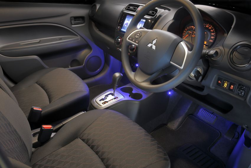 Mitsubishi Mirage facelift 2020 kini di Australia – harga bermula RM44k, standard dengan AEB & 6-beg udara Image #1102067
