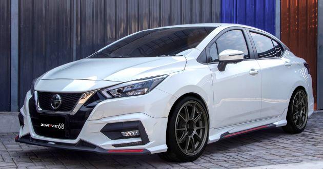 2020 Nissan Almera Dressed Up In Drive68 Body Kit Horaprensa Com