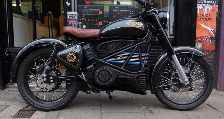 Royal Enfield Bullet Photon by Electric Classic Cars Image #1104087
