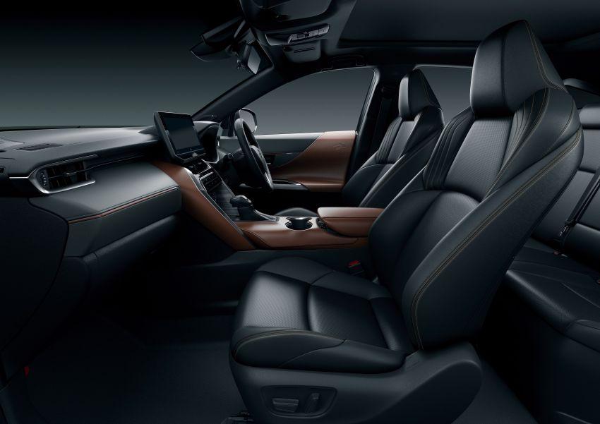 All-new 2020 Toyota Harrier debuts – TNGA (GA-K) platform, 2.0L petrol, Direct Shift-CVT, no more turbo Image #1105998