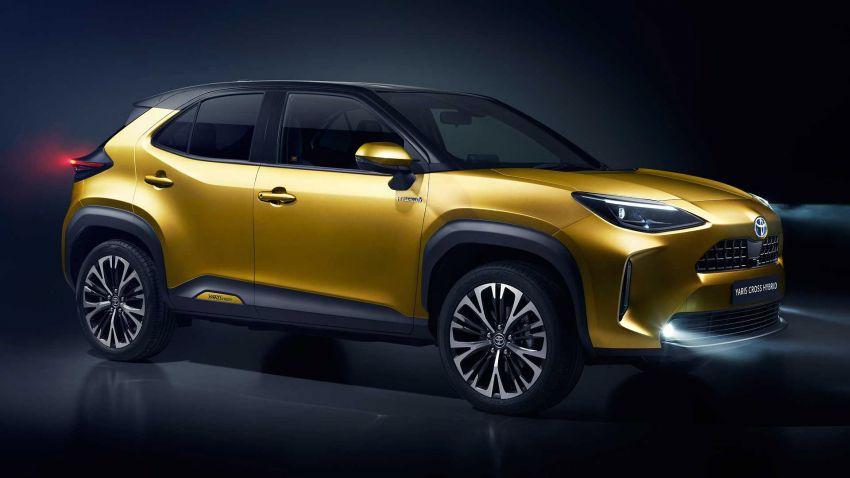 2021 Toyota Yaris Cross debuts – new B-segment SUV with 1.5 litre hybrid powertrain, Toyota Safety Sense Image #1110677