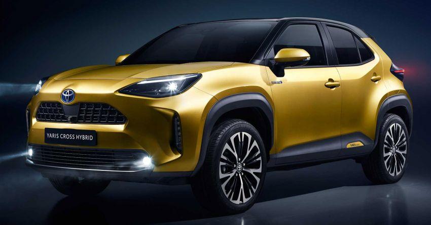 2021 Toyota Yaris Cross debuts – new B-segment SUV with 1.5 litre hybrid powertrain, Toyota Safety Sense Image #1110679