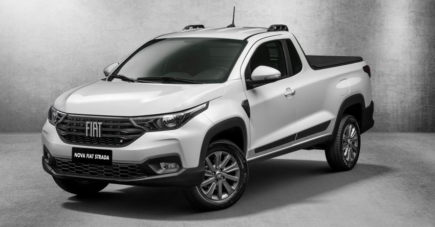 2021 Fiat Strada debuts in Brazil – compact pick-up Image #1104452