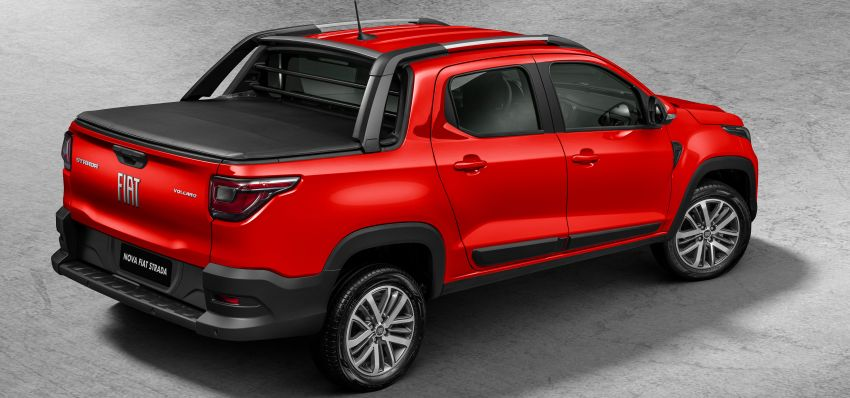 2021 Fiat Strada debuts in Brazil – compact pick-up Image #1104462