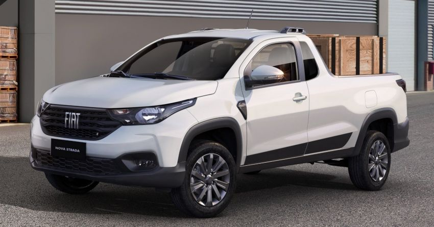2021 Fiat Strada debuts in Brazil – compact pick-up Image #1104465