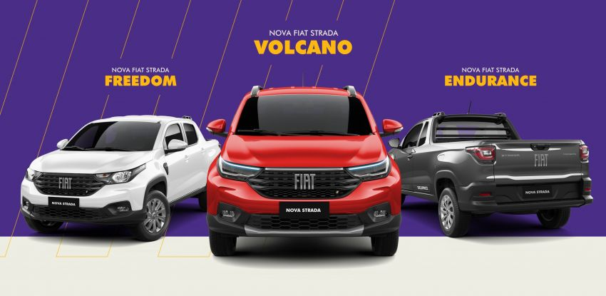 2021 Fiat Strada debuts in Brazil – compact pick-up Image #1104472