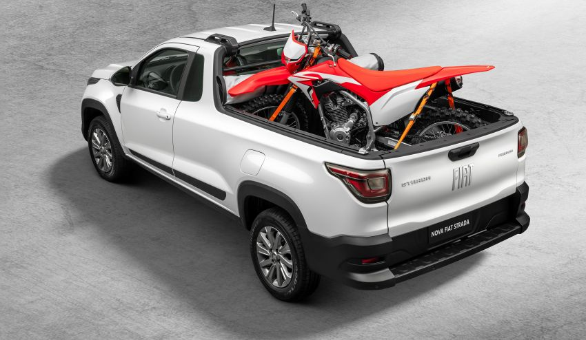 2021 Fiat Strada debuts in Brazil – compact pick-up Image #1104454