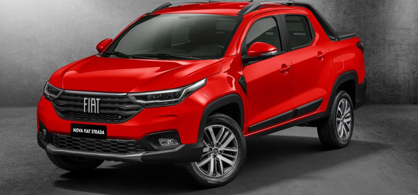 2021 Fiat Strada debuts in Brazil – compact pick-up Image #1104459