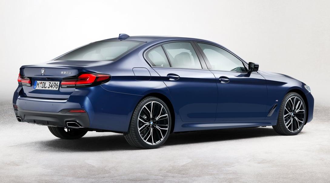2021 BMW 5 Series facelift - G30 LCI M Sport leaked! 2021 ...