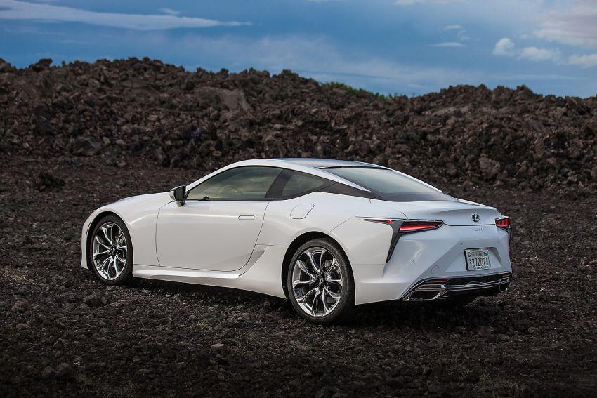 2021 Lexus LC gets suspension tweaks, 10 kg lighter Image #1104847