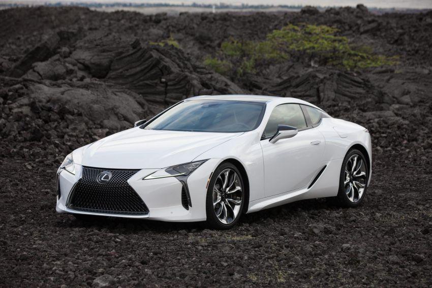 2021 Lexus LC gets suspension tweaks, 10 kg lighter Image #1104848