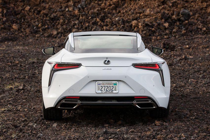 2021 Lexus LC gets suspension tweaks, 10 kg lighter Image #1104849