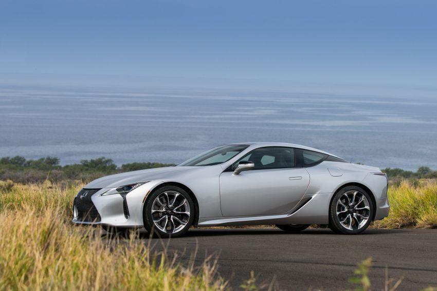 2021 Lexus LC gets suspension tweaks, 10 kg lighter Image #1104852