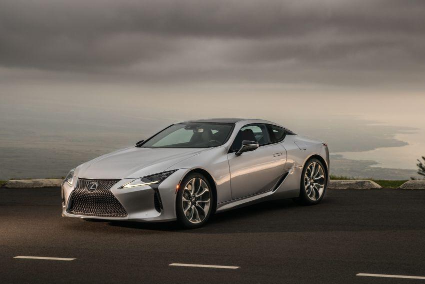 2021 Lexus LC gets suspension tweaks, 10 kg lighter Image #1104854