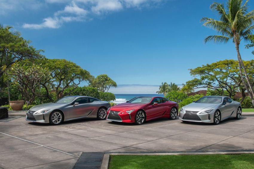 2021 Lexus LC gets suspension tweaks, 10 kg lighter Image #1104856