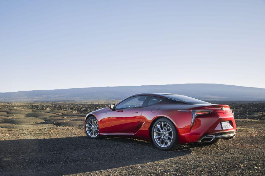 2021 Lexus LC gets suspension tweaks, 10 kg lighter Image #1104838