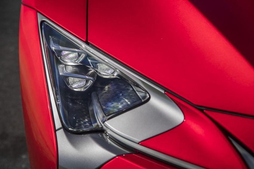 2021 Lexus LC gets suspension tweaks, 10 kg lighter Image #1104858