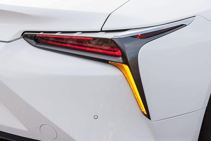2021 Lexus LC gets suspension tweaks, 10 kg lighter Image #1104860