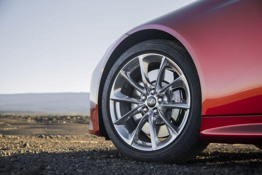 2021 Lexus LC gets suspension tweaks, 10 kg lighter Image #1104863
