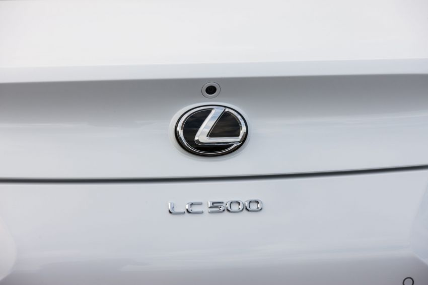 2021 Lexus LC gets suspension tweaks, 10 kg lighter Image #1104865