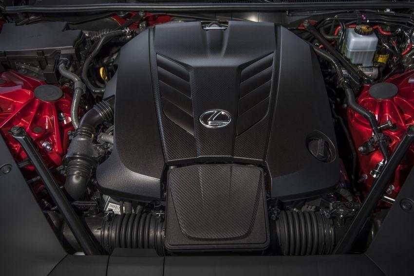 2021 Lexus LC gets suspension tweaks, 10 kg lighter Image #1104866