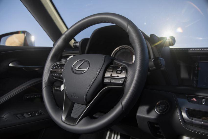 2021 Lexus LC gets suspension tweaks, 10 kg lighter Image #1104869