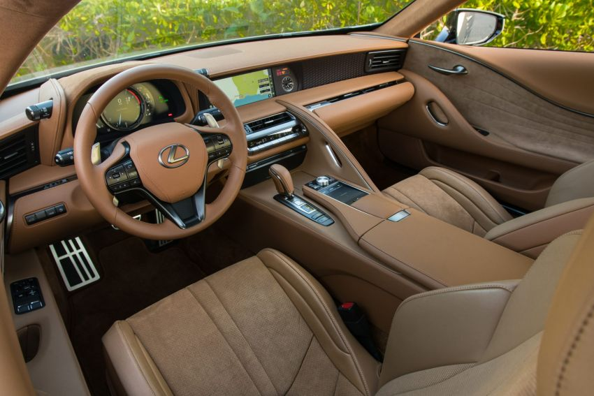 2021 Lexus LC gets suspension tweaks, 10 kg lighter Image #1104870