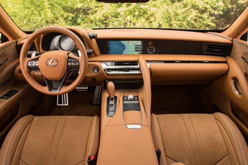 2021 Lexus LC gets suspension tweaks, 10 kg lighter Image #1104871