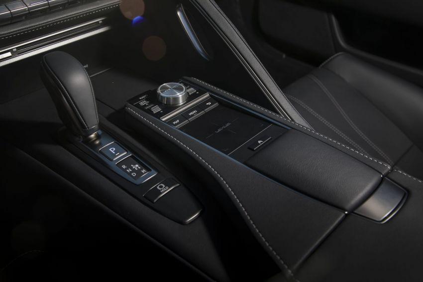 2021 Lexus LC gets suspension tweaks, 10 kg lighter Image #1104872
