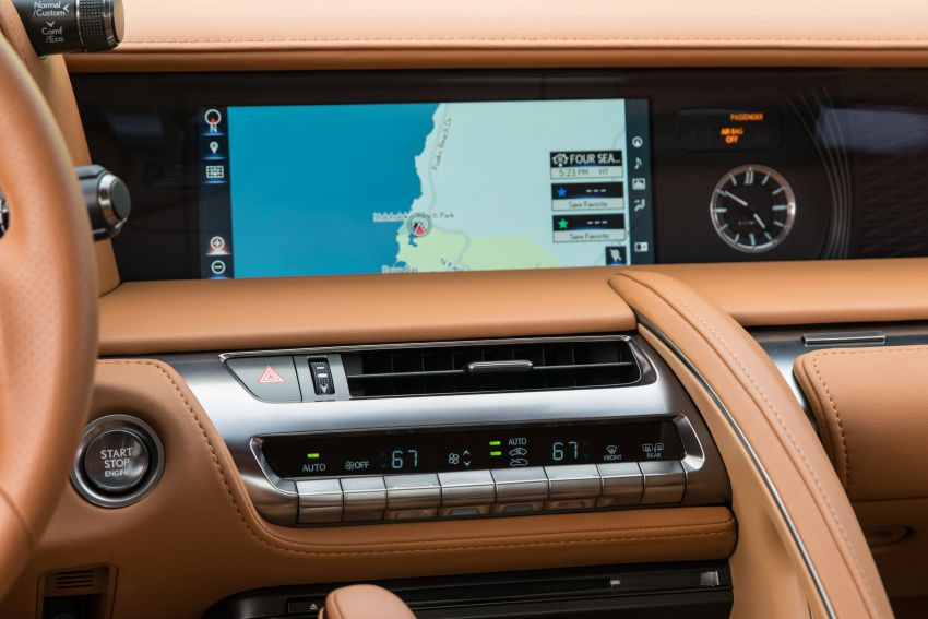 2021 Lexus LC gets suspension tweaks, 10 kg lighter Image #1104873