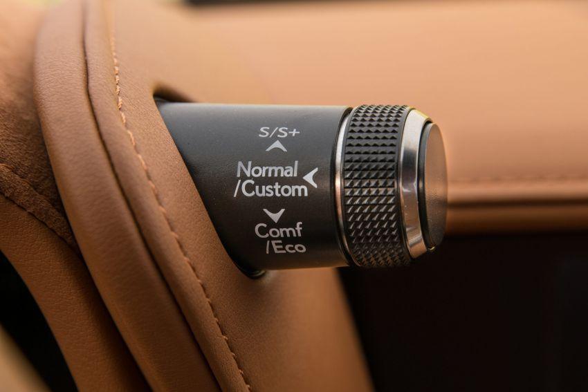 2021 Lexus LC gets suspension tweaks, 10 kg lighter Image #1104875