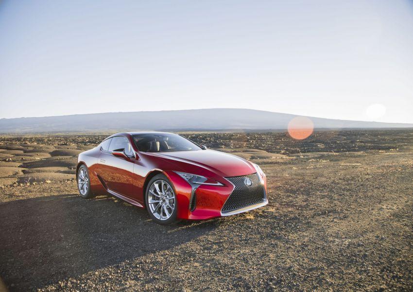 2021 Lexus LC gets suspension tweaks, 10 kg lighter Image #1104840
